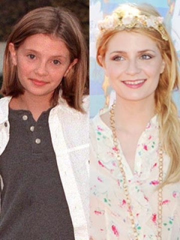 Mischa Barton Then And Now CELEBRITY PHOTO...