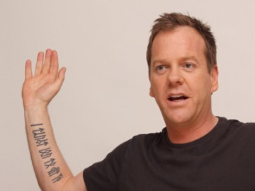 Keifer Sutherland | Celebrity Tattoos | pictures | now ...