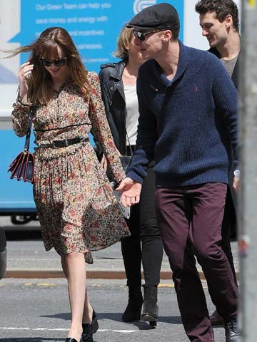 OMG! Benedict Cumberbatch goes to lunch with Fifty Shades ...