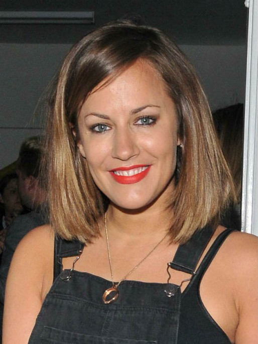 Wow! See Caroline Flack's new hair transformation for The ...